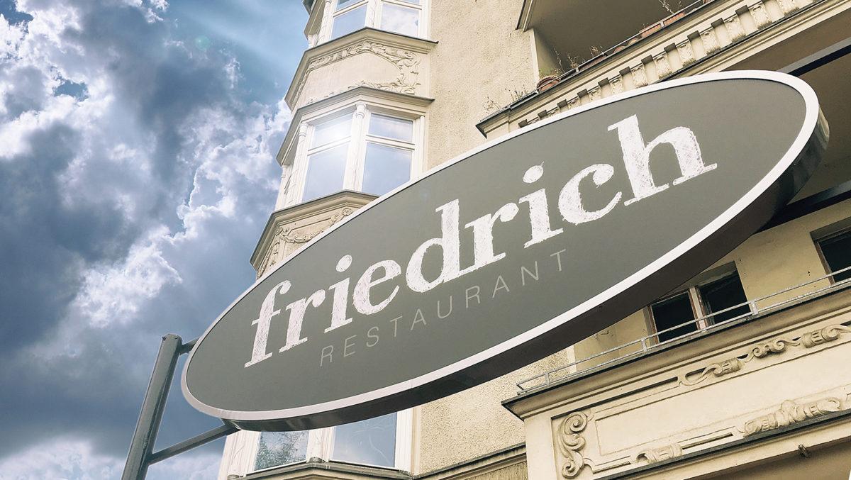 restaurant friedrich Eingang