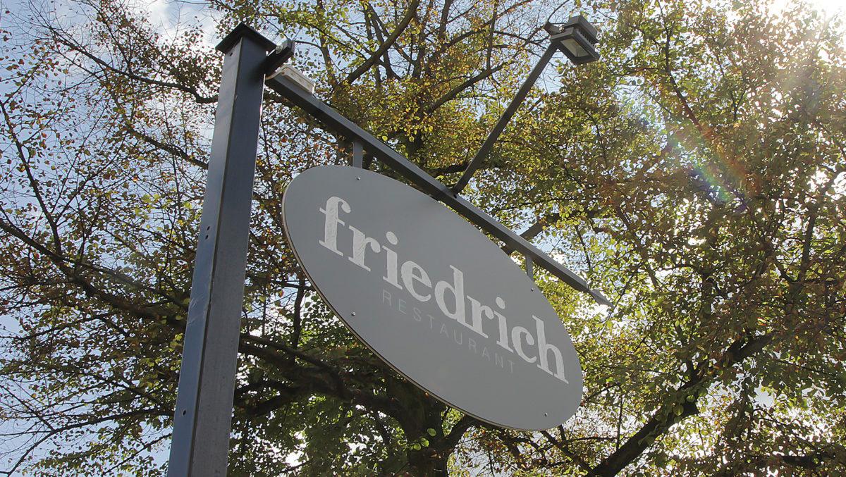 Restaurant friedrich Schild